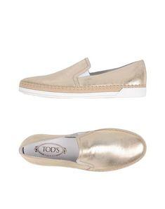 TOD'S Espadrilles. #tods #shoes #модель без застёжек