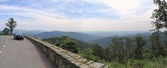Skyline Drive Shenandoah National Park Virginia Blue Ridge Mountains Panorama IMG_9781