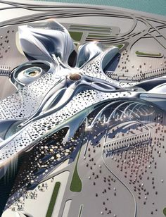 Steven Ma Architects , Wendy Fok Wei Yue, Domenik Stezzelec_ephemeral roof exchange _ 2010 Competition