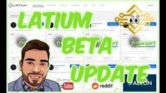LatiumCoin LATX | Beta Update | Internal Exchange