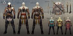 ArtStation - Assassin's Creed Origin, Evan Liu