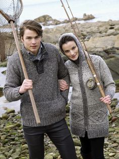 Men s Aran Knitwear by Natallia Kulikouskaya at Coroflot.com 85562fb6fd02