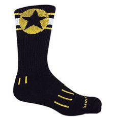 Meia American Star Gold