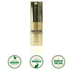 VEE TOX Anti Aging Eye Cream - Bee Venom Eye Cream with Swiss Apple Stem Cell 0.51fl oz (15ml) *** Want to know more, click on the image. (Note:Amazon affiliate link)