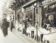Berlin 1912 Café Kranzler Unter den Linden