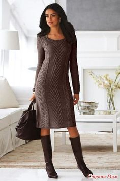 Здравствуйте страномамочки! Хочу связать подобное платье  но в чёрном цвете.  Как считаете будет ли смотреться? И подойдёт ли пряжа Ярнарт мерино де люкс 50%/50% шерсть/акрил 280 м.