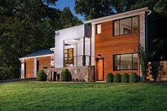 modern house exterior facelift