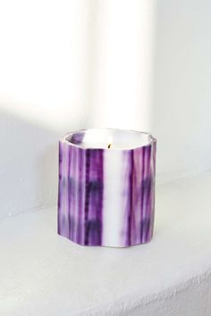 Le Feu de L'eau Violet Candle | Nasty Gal. Common scents? Not on our watch. The Violet Candle combines musk with citrus in a fusion of grapefruit and tobacco.