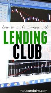 Interested in the Lending Club?Find out how much you can make here! #lendingclub #makingmoney #sidehustle