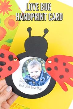 Make a cute Love Bug Handprint Craft with your Arty Crafty Kids this Valentine's. Make a cute Love Bug Handprint Craft with your Arty Crafty Kids this Valentine's! or save it for Mother's day, Father's . Valentine's Day Crafts For Kids, Valentine Crafts For Kids, Daycare Crafts, Christmas Crafts For Kids, Baby Crafts, Toddler Crafts, Preschool Activities, Fun Crafts, Art For Kids