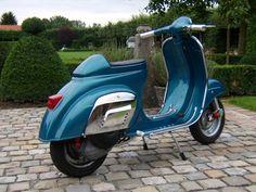 Metallic blue... weird rear light, too