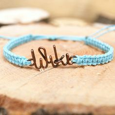 Excited to share the latest addition to my #etsy shop: Wire name personalized friendship bracelet, clover, infinity, heart, christmas, birthday gift, medical http://etsy.me/2yBKzZ8