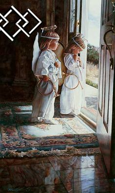 Steve Hanks Little Angels painting for sale, this painting is available as handmade reproduction. Shop for Steve Hanks Little Angels painting and frame at a discount of off. Watercolor Artists, Watercolor Paintings, Angel Paintings, Art Paintings, Watercolors, Watercolor Print, I Believe In Angels, Angels Among Us, Angel Art