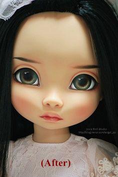 디즈니 베이비돌 리페인팅 포카혼타스 (by Joo) - 라푼젤 / Disney Animator Collection Pocahontas Repaint by Joo : 네이버 블로그