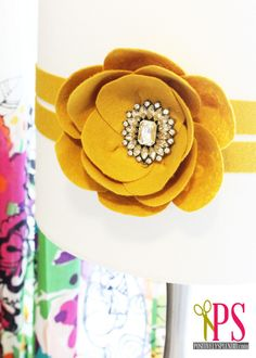 No-Sew Felt Poppy Tutorial
