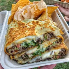 to food trucks with family. and a whole bunch of quesadilla goodness! A side of queso topped tortilla chips, to go along! What's your favorite food truck, or food truck menu item? Think Food, I Love Food, Good Food, Yummy Food, Awesome Food, Tasty, Spareribs, Cooking Recipes, Healthy Recipes