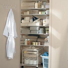 Elfa Closets   Elfa® Linen Closet Kits