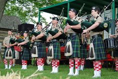 "Bagpipe Fun Fact: ""The tyrant Nero was a ruthless ruler, strategist, and persecutor of Christians. He was also said to be a skilled piper."" (Image: Bagpipes at the Strawberry Festival by Virginia State Parks staff. CC BY 2.0 via Wikimedia Commons.)"