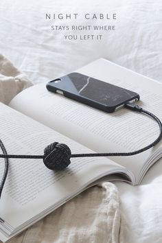 None of us enjoy fumbling around for dropped cables or straining to use our devices when they're recharging. NIGHT Cable gives you a 10-foot range to comfortably charge anywhere.