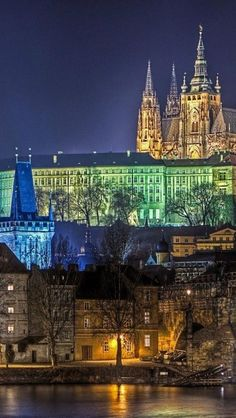 Prague Castle, Czech Republic, Europe, Gothic Architecture,