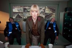Millicent, played by Nicole Kidman, was given a military style in the Paddington film. More at http://3storymagazine.com/style-tips-paddington-bear/