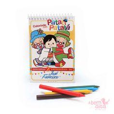 KIT PERSONALIZADO PARA COLORIR <br>***GRÁTIS TAG PERSONALIZADA!*** <br> <br>Kit com arte personalizada de acordo com a sua necessidade. Super divertido, com caderninho para colorir e giz de cera! <br> <br>- Caderninho com capa colorida, folhas, e medidas cm 10cm x 15cm; <br>- 05 gizes de cera; <br>- Acompanha embalagem transparente e fita; <br>- Fazemos a arte de acordo com o tema da sua festa; <br>- Após a confirmação do seu pedido, entraremos em contato para que você possa nos passar as…