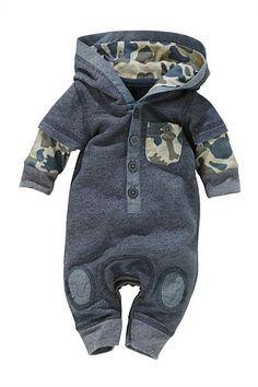 Newborn Clothing - Baby Clothes and Infantwear - Next Denim Look Romper