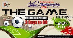 The Countdown to Football Season 2018 begins Football Season, Football Team, Co E, The Marketing, Finals, Champion, Seasons, Activities, Sports