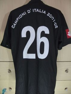 b011f12e127 Edgar Davids Juventus Italy Calcio Lotto 2001 Player Vtg Football Shirt  Jersey