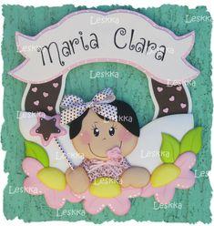 Placa de porta para quarto e maternidade. R$42,00