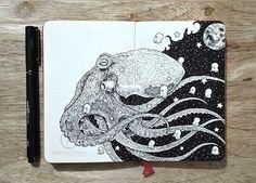 Libretas que valen su peso en tinta o el arte del garabato pro