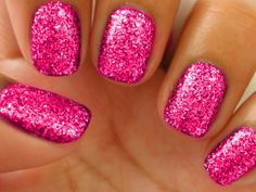 I love this color and the glitter!!!