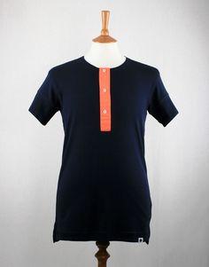 Mads Norgaard King Rib Tomble Henley T-Shirt