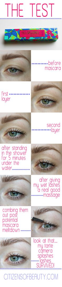 How to Survive a Mascara Meltdown! @tarte cosmetics #spon #mascara #waterproof