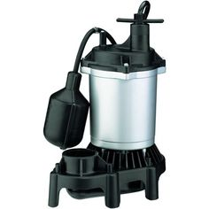 Constructed from engineered composites for dependable, corrosion-free service, the energy-efficient Pentair Flotec Submersible Thermoplastic Sump Pump delivers high-output performance Submersible Sump Pump, Plumbing Pumps, Stainless Steel Fasteners, Thing 1, Water Flow, Energy Efficiency, Hardware, Products, Walmart