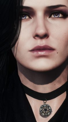 "rannah-evae: ""  Yennefer of Vengerberg (hq) Witcher 3: The Wild Hunt """