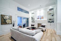 Natural Birch Floor- Hardwood Flooring- Living Room - Great Room - Logs End Birchだったら、こういう色ムラがあるものがいい