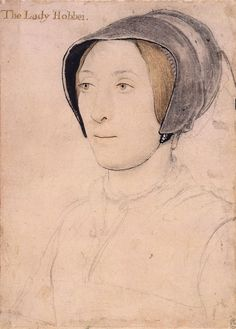 Ганс Гольбейн младший (1497-1543), Portrait of Lady Hoby. c.1536-40
