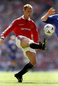 Nicky Butt of Man Utd in 1998.