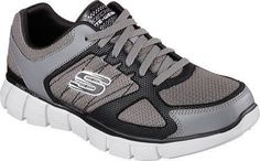 Skechers Mens Equalizer 20 On TrackCharcoalBlackUS 11 WW >>> See this great product.