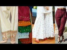 Ankle Length pant Cutting and stitching IN Hindi //Designer Straight pant // - YouTube