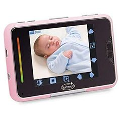 Night Vision Mode, SD Card Recording BabyPro HD WiFi Video Baby Monitor