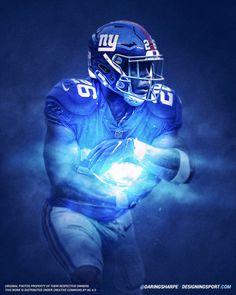 de29a9e6eb9 Saquon Barkley, New York Giants New York Giants Football, Nfl Football,  Football Helmets