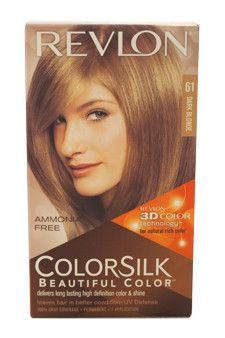 ... color 61 dark blonde by revlon colorsilk beautiful color dark