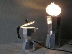 Expresso coffee maker light...  Got to have it!