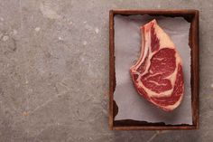 Dry-aged steaks are different from fresh-cut steaks. During the dry-aging process, we've removed a significant amount of moisture to concentrate and