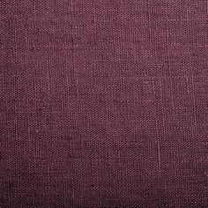 Tissu 100% lin aspect lavé prune