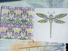 Dragonfly and symbol enchanted forest