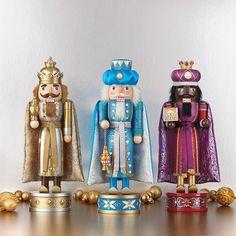 Costco Mexico - 3 Cascanueces de madera de los Reyes Magos