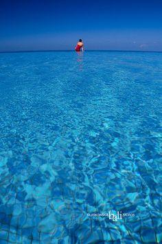 Infinity Pool, Bali, Indonesia.